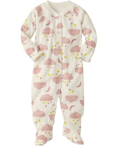 Little Sleepers With Feet In Organic Cotton by Hanna Andersson
