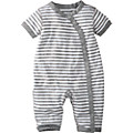 Ribbie Romper In Pure Organic Cotton