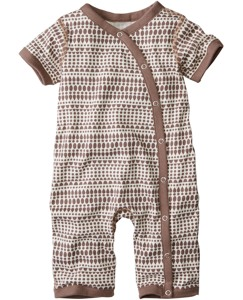 Snuggle Romper In Organic Cotton by Hanna Andersson
