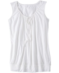 Sleeveless Pima Tee