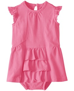 Ruffle Dress Set