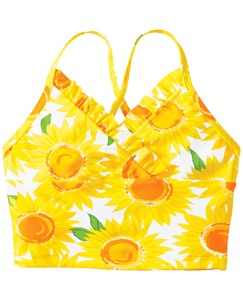 Sunflower Tankini Top