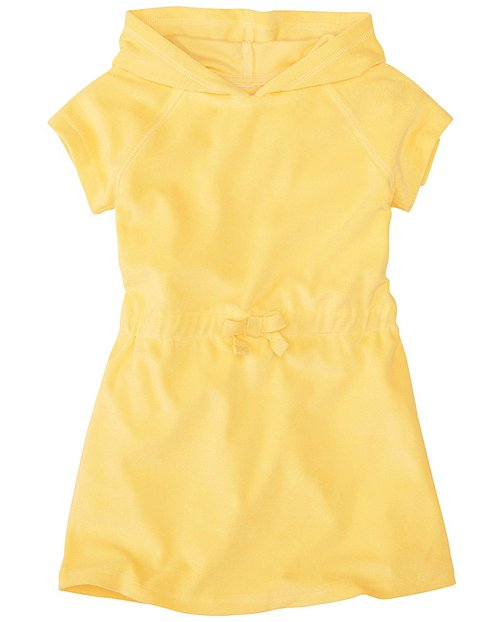 Girls Sunsoft Terry Hooded Cover-Up by Hanna Andersson