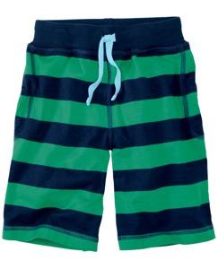 Heavy Jersey Striped Shorts