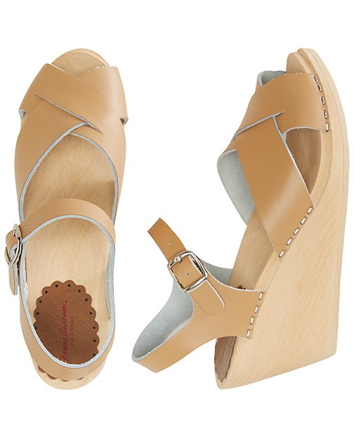 Swedish Wedge Sandal Clog By Hanna