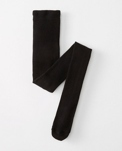 Girls Signature Ribbed Tights by Hanna Andersson
