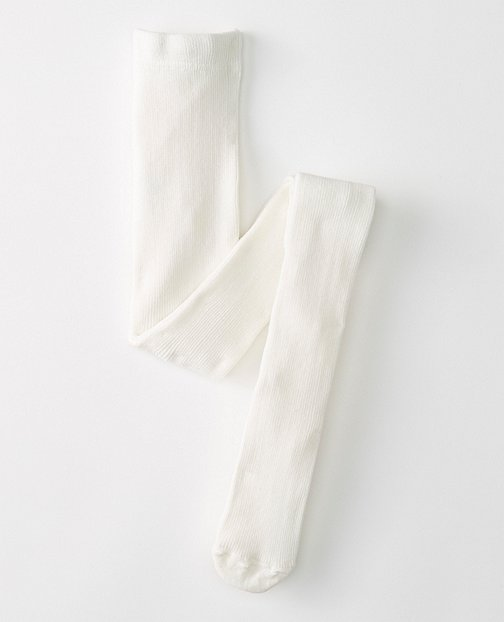 Bright Kids Basics Signature Ribbed Tights by Hanna Andersson