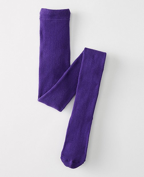 Kids Signature Ribbed Tights by Hanna Andersson