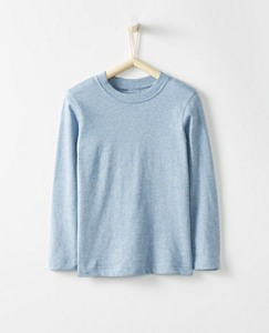 Boys Bright Kids Basics Pima Layering Tee by Hanna Andersson