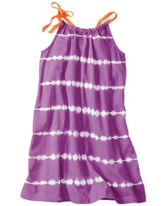 Tie Dye Jersey Pillowcase Dress