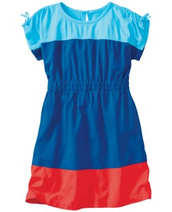 Colorblock Dress