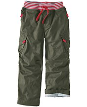 Jersey Lined Cargo Pant