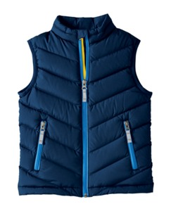Warm Up In Down Vest