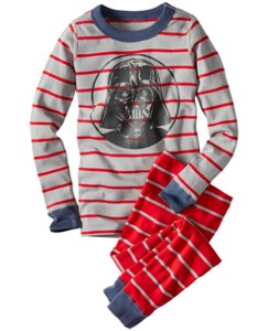Star Wars™ Darth Vader Long John Pajamas In Organic Cotton