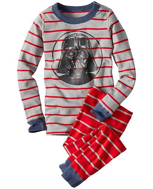 Star Wars™ Darth Vader Long John Pajamas In Organic Cotton by Hanna Andersson