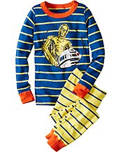 Star Wars™ R2-D2/C-3PO Long John Pajamas In Organic Cotton