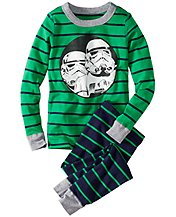 Star Wars™ Stormtrooper Long John Pajamas In Organic Cotton
