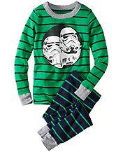 Star Wars™ Stormtrooper Long John Pajamas In Organic Cotton