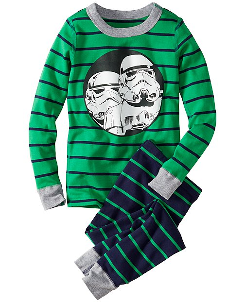 Star Wars™ Stormtrooper Long John Pajamas In Organic Cotton by Hanna Andersson