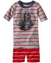 Star Wars™ Darth Vader Short John Pajamas In Organic Cotton