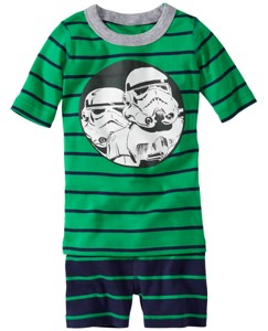 Star Wars™ Stormtrooper Short John Pajamas In Organic Cotton