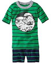 Star Wars™ Stormtrooper Short John Pajamas In Organic Cotton