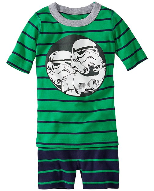 Star Wars™ Stormtrooper Short John Pajamas In Organic Cotton by Hanna Andersson