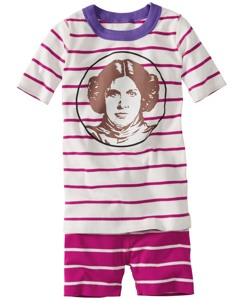 Star Wars™ Princess Leia Short John Pajamas In Organic Cotton