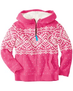 Getting Warmer Sherpa Lined Sweater Hoodie