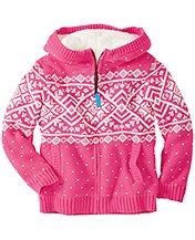 Getting Warmer Sherpa Lined Sweater Hoodie