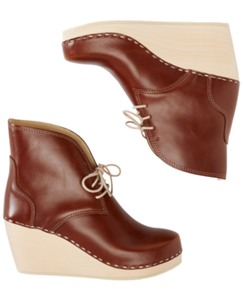 Swedish Clog Boot By Hanna