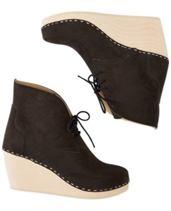 Swedish Clog Boot By Hanna