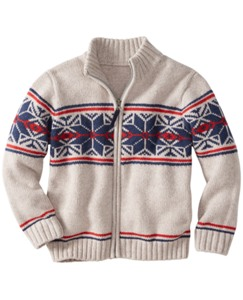 Crackerjack Zipfront Sweater