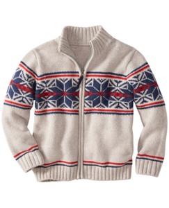 Crackerjack Zipfront Sweater