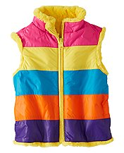 Inside Out Colorblock Vest