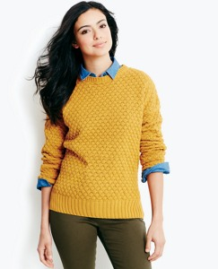 Honeycomb Chunky Knit Sweater