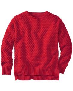 Honeycomb Chunky Knit Sweater