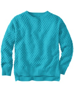 Honeycomb Chunky Knit Sweater by Hanna Andersson