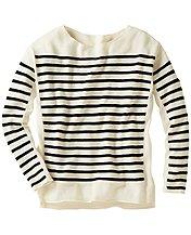Merino Stripe Pullover Sweater