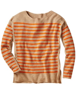 Merino Stripe Pullover Sweater
