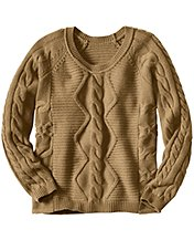 Luxe Heritage Cable Sweater