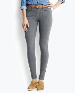 Skinny Pants in Ponte Knit