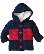 Sherpa Lined Sweater Jacket