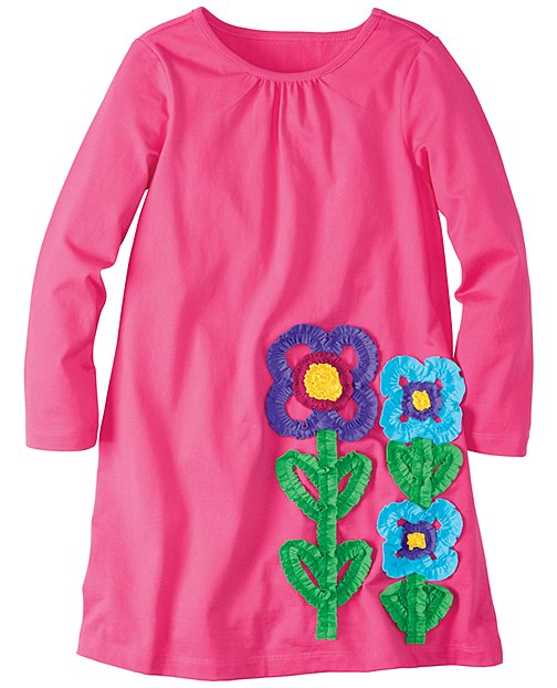 Little Sprout Flower Dress by Hanna Andersson