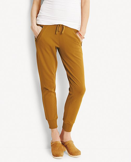 Stockholm Pants In French Terry by Hanna Andersson