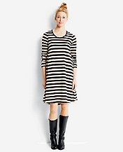 Swingstripe Dress