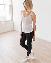 Women Luxe Pima Tank by Hanna Andersson