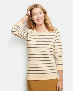 Raglan Sweatshirt In French Terry by Hanna Andersson