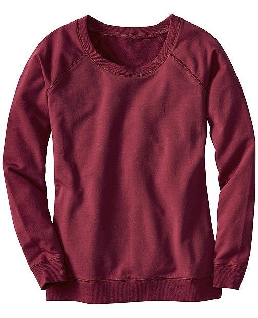 Raglan Sweatshirt In French Terry Cotton by Hanna Andersson