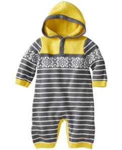 Bright Hoodie Sweater Romper